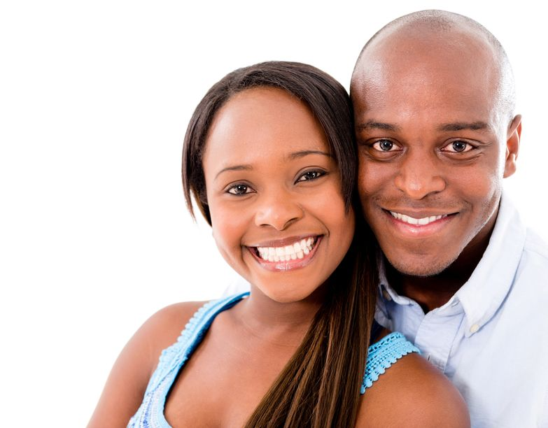 smiling couple for insurances page